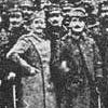 A photograph of Serbian and Greek military officers from the Balkan War era.